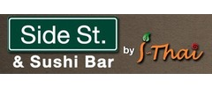 Side St. & Sushi Bar by I- Thai Logo