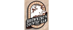 Browning's Country Ham Logo