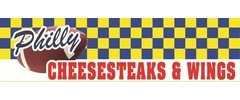 Philly Cheese Steaks & Wings Logo
