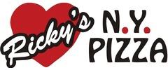 Ricky's NY Pizza Logo