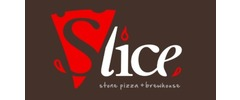 Slice Pizza & Brew Logo