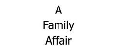 Family Affair Restaurant & Catering Logo