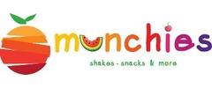 Munchies Shakes Snacks & More logo