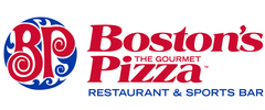 Boston's The Gourmet Pizza Logo