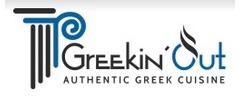 Greekin' Out Logo