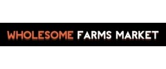 Wholesome Farms Market Logo
