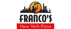 Franco's NY Pizza Logo