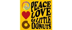Peace Love and Little Donuts Logo