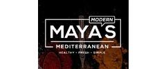 Maya's Modern Mediterranean Logo