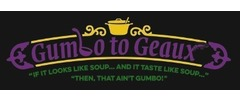 Gumbo to Geaux Logo