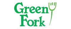 Green Fork & Straw Logo