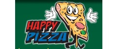 Happy Pizza Logo