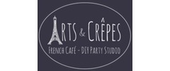 Arts & Crepes Logo