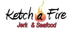 KetchAFire Jerk And Seafood Logo