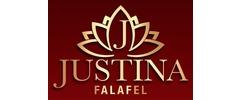 Justina Falafel Logo