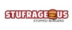 Stufrageous Stuffed Burgers Logo