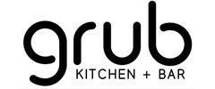 Grub Kitchen + Bar logo