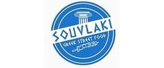 Souvlaki Greek Street Food Logo