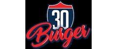 30 Burger Logo