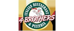 4 Brothers Italian Restaurant & Pizzeria Logo