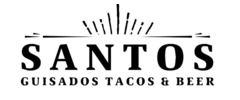 Santos Guisados Tacos and Beer Logo
