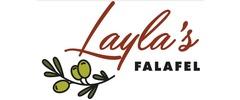 Layla's Falafel Logo