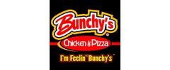 Bunchy's Chicken & Pizza Logo