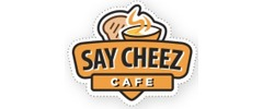 Say Cheez Cafe Catering logo