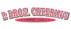 2 Bros. Catering Logo