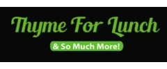 Thyme for Lunch Logo