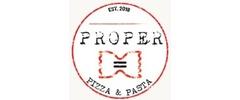 Proper Pizza and Pasta Logo