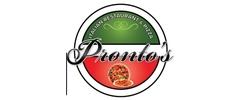 Pronto's Italian Restaurant & Pizza Logo
