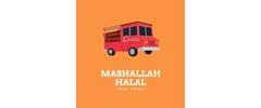 Mashallah Halal Food Truck Logo