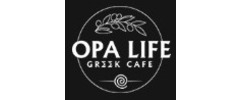 Opa Life Greek Cafe Logo