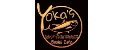 Yoka's Off The Hook Sushi Cafe Logo