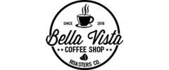 Bella Vista Coffee Shop Logo