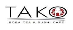 Tako Boba Tea and Sushi Cafe Logo