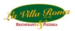 La Villa Roma Restaurant & Pizzeria Logo