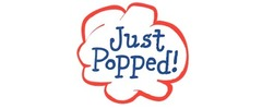 Just Popped! Popcorn Logo