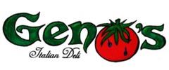 Geno's Italian Deli Logo