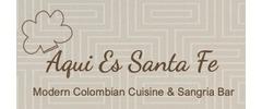 Aqui Es Santa Fe Logo