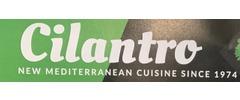 Cilantro New Mediterranean Cuisine Logo