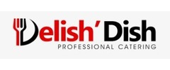 Delish' Dish Catering Co. Logo