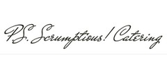 P.S. Scrumptious! Catering Logo