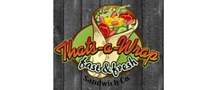 That's a Wrap Sandwich Co. Logo