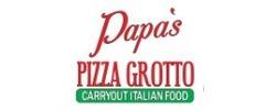 Papa's Pizza Grotto Logo