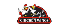 Shorty And Wags Original Chicken Wings Logo