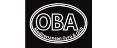 OBA Mediterranean Gyro & Grill Logo