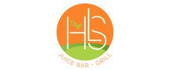HLS Juice Bar & Grill Logo