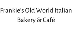 Frankie's Old World Italian Bakery & Café Logo